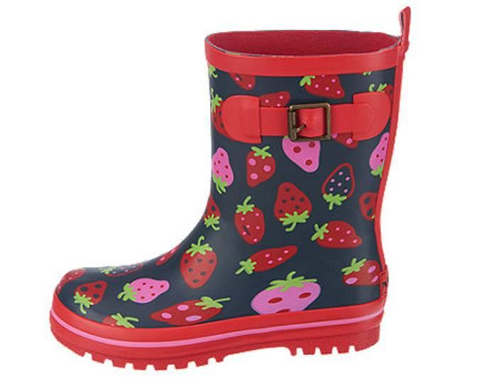 Erdbeer Gummistiefel