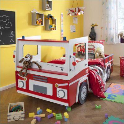 daheim.de Feuerwehrauto Bett