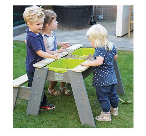 Wasser-Sand-Spieltisch Holz
