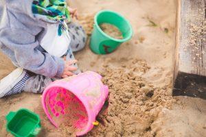 Kindergarten Sandkasten