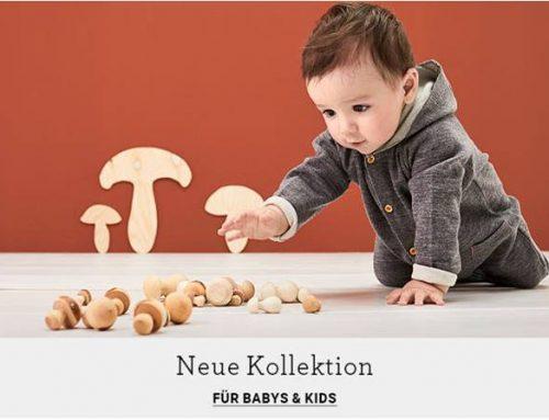 Die neue hessnatur Baby-Kollektion ist da!