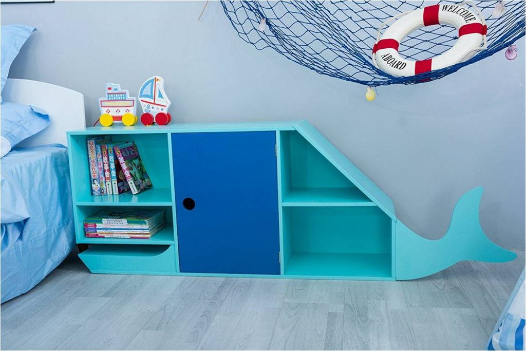 wunderbares kinderzimmer regal blauwal 29 g nstiger. Black Bedroom Furniture Sets. Home Design Ideas