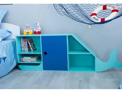 "Kinderzimmer Regal ""Blauwal"" 29% günstiger!"