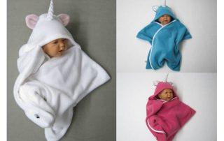 Babywrap Einhorn
