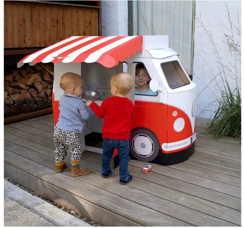 VW Bus Marktstand