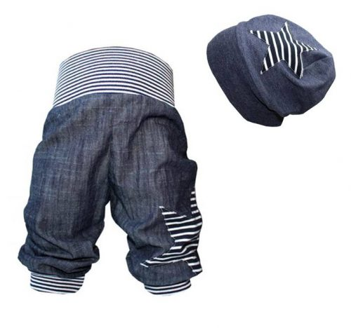 Pumphose Jeans Stern