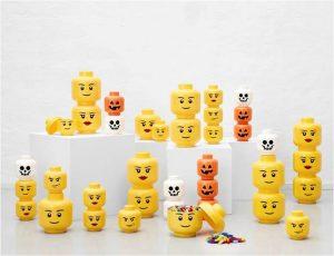 Lego Linzenzkollektion Aufbewahrungskopf