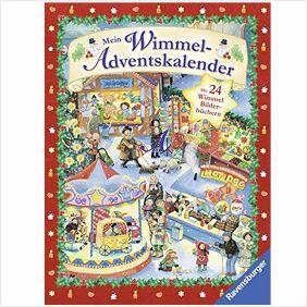 Adventskalender Wimmelbuch