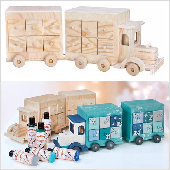 Adventskalender Lastwagen