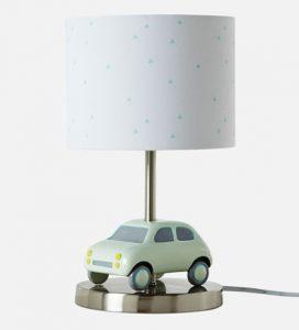Kinderlampe mit Auto