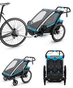 Kinderfahrradanhänger Thule Chariot 2-Sitzer