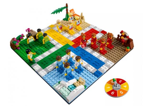 Lego Ludo Spiel