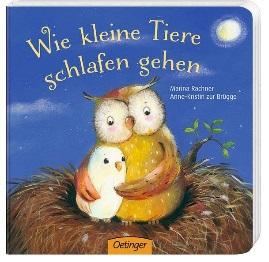Kinderbuch Wie kleine Tiere schlafen gehen