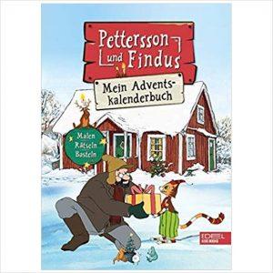 Adventskalenderbuch Petersson und Findus