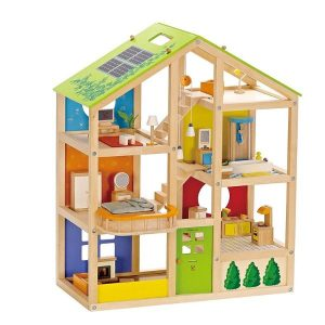 Holz Puppenhaus