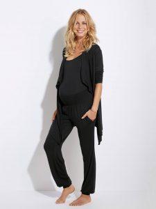 Homewear-Set für Schwangerschaft und Stillzeit