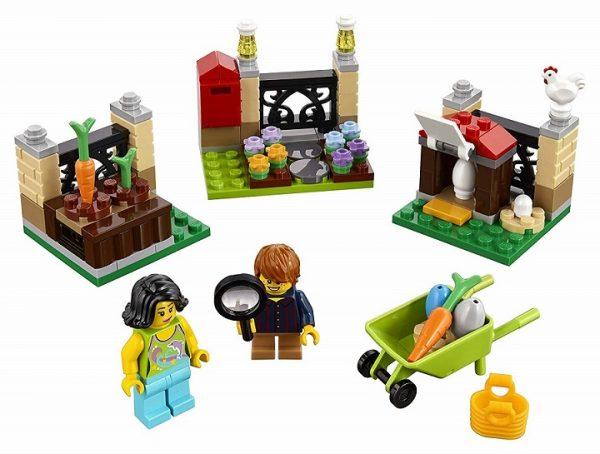 Lego Ostereiersuche Bauspiel