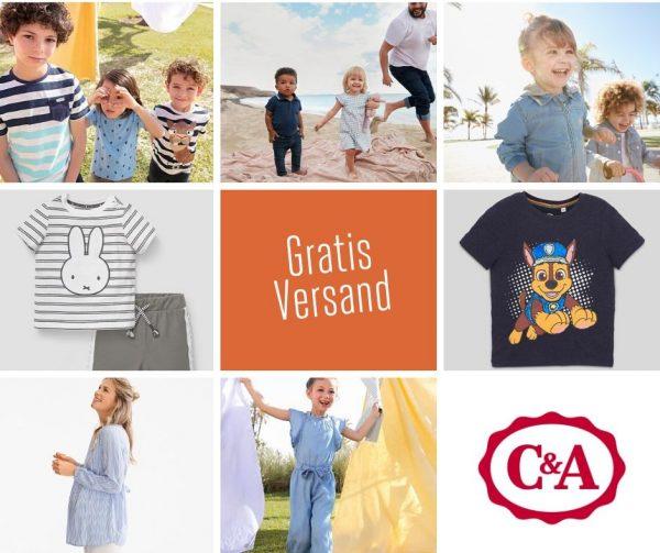 C&A Gratisversand