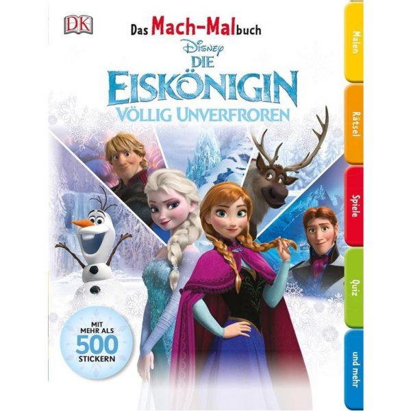 Malbuch Eiskönigin