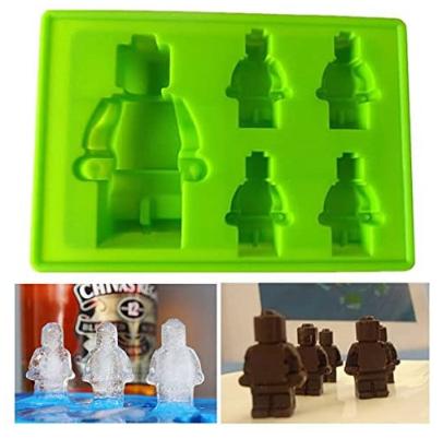 Lego Pralinen- und Eiswürfelform