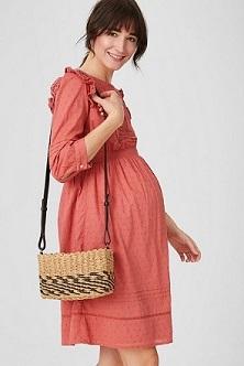 Sommer Umstand-Kleid
