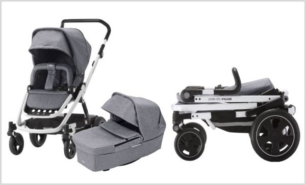 Britax Komfortkinderwagen Go mit Sportaufsatz