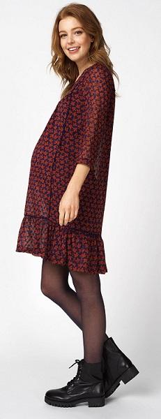 Herbst Umstand-Kleid