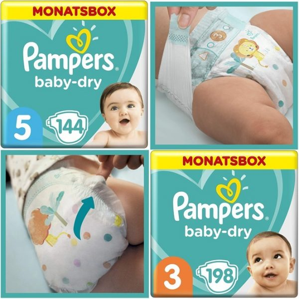 Pampers Babydry Angebot