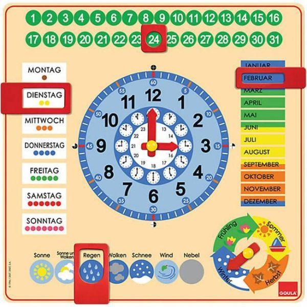 Kalenderuhr