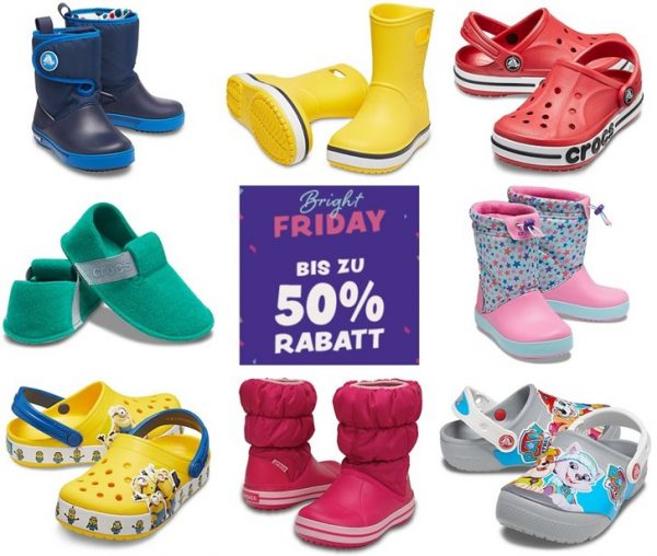 Crocs Black Friday
