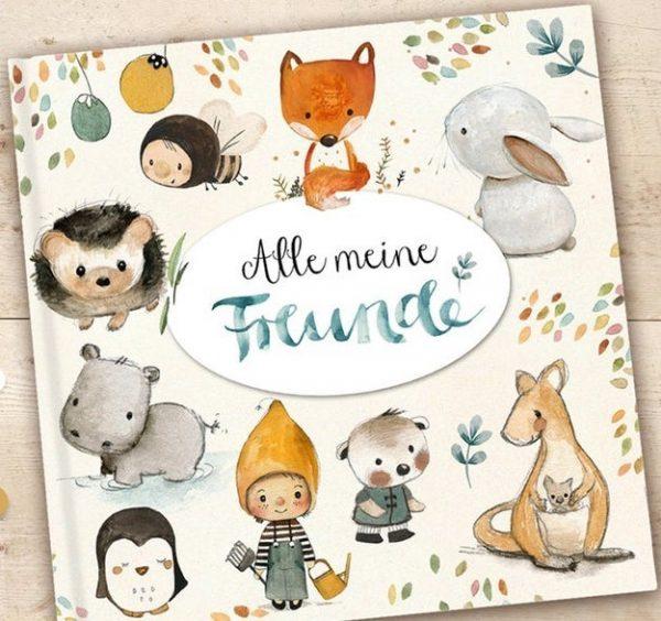 Kindergartenfreundebuch Alle meine Freunde