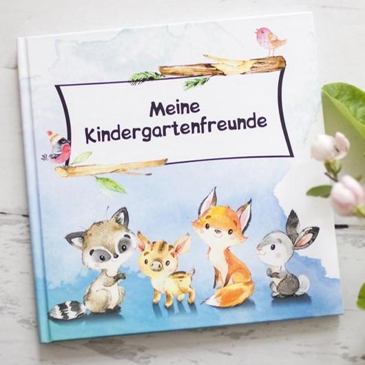 Kindergartenfreundebuch Waldtiere