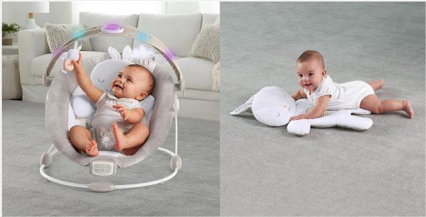 ingeunity Babywippe mit Vibrationen
