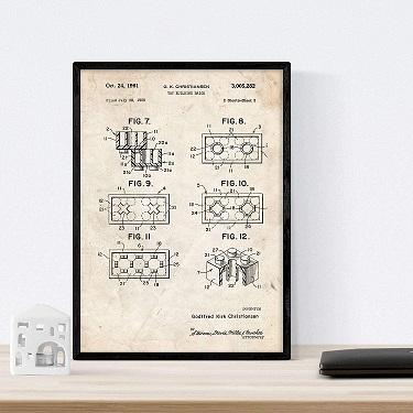 Lego Patentzeichnungen