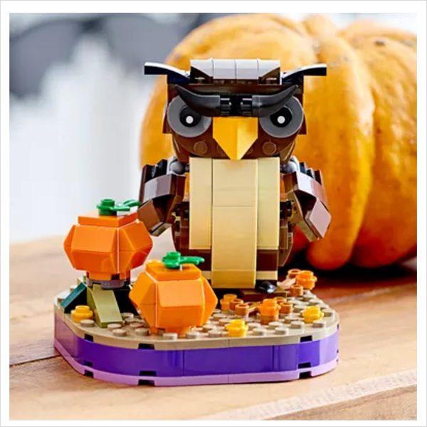 Halloween Lego Eule