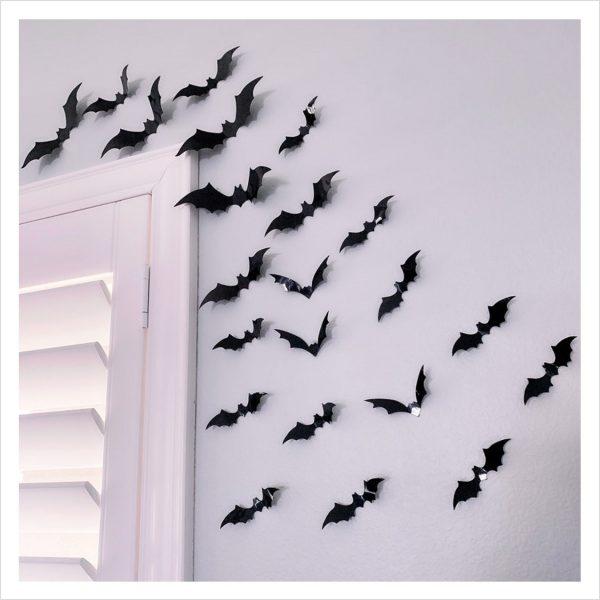 Halloween Fledermäuse Aufkleber Sticker