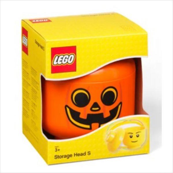 Halloween Kürbis Lego Aufbewahrung