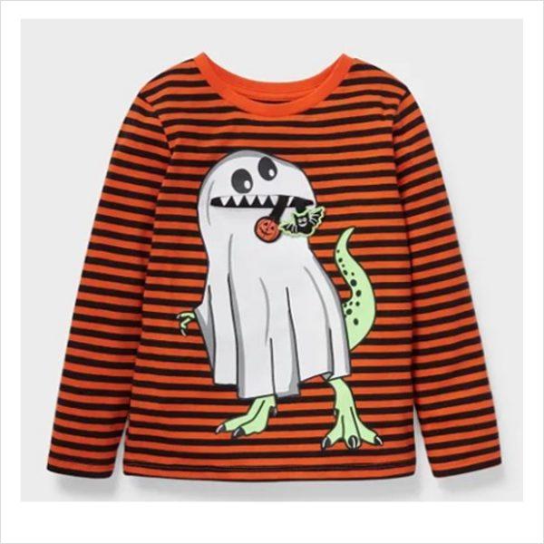 Halloween Langarmshirt Mode